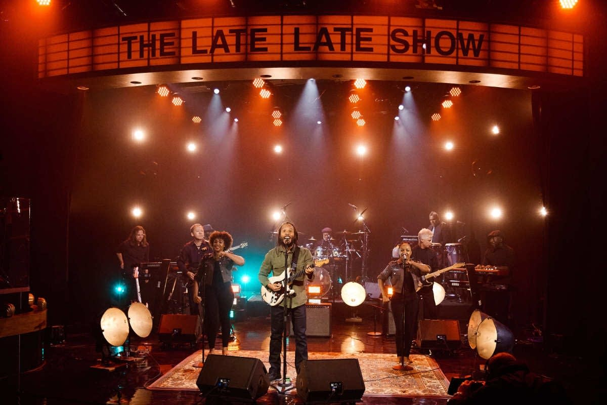 Ziggy Marley on 'The Late Late Show with James Corden'