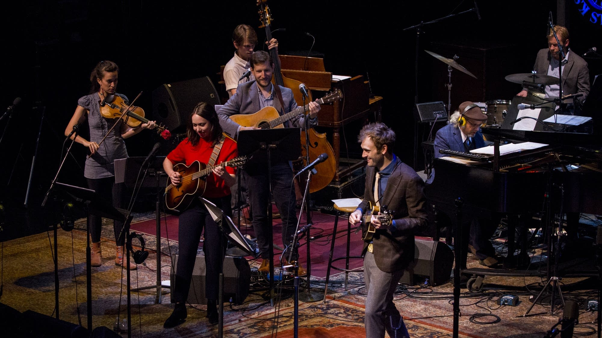 Chris Thile and The First-Call Radio Players