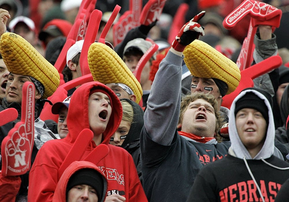 Nebraska Cornhusker fans