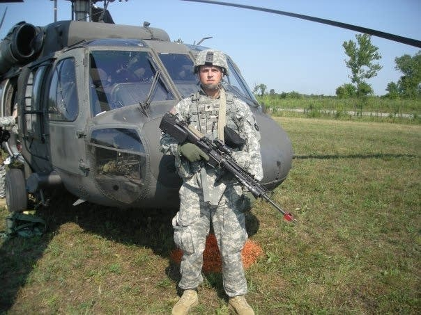 Minn. National Guardsman Jared Vanderhook
