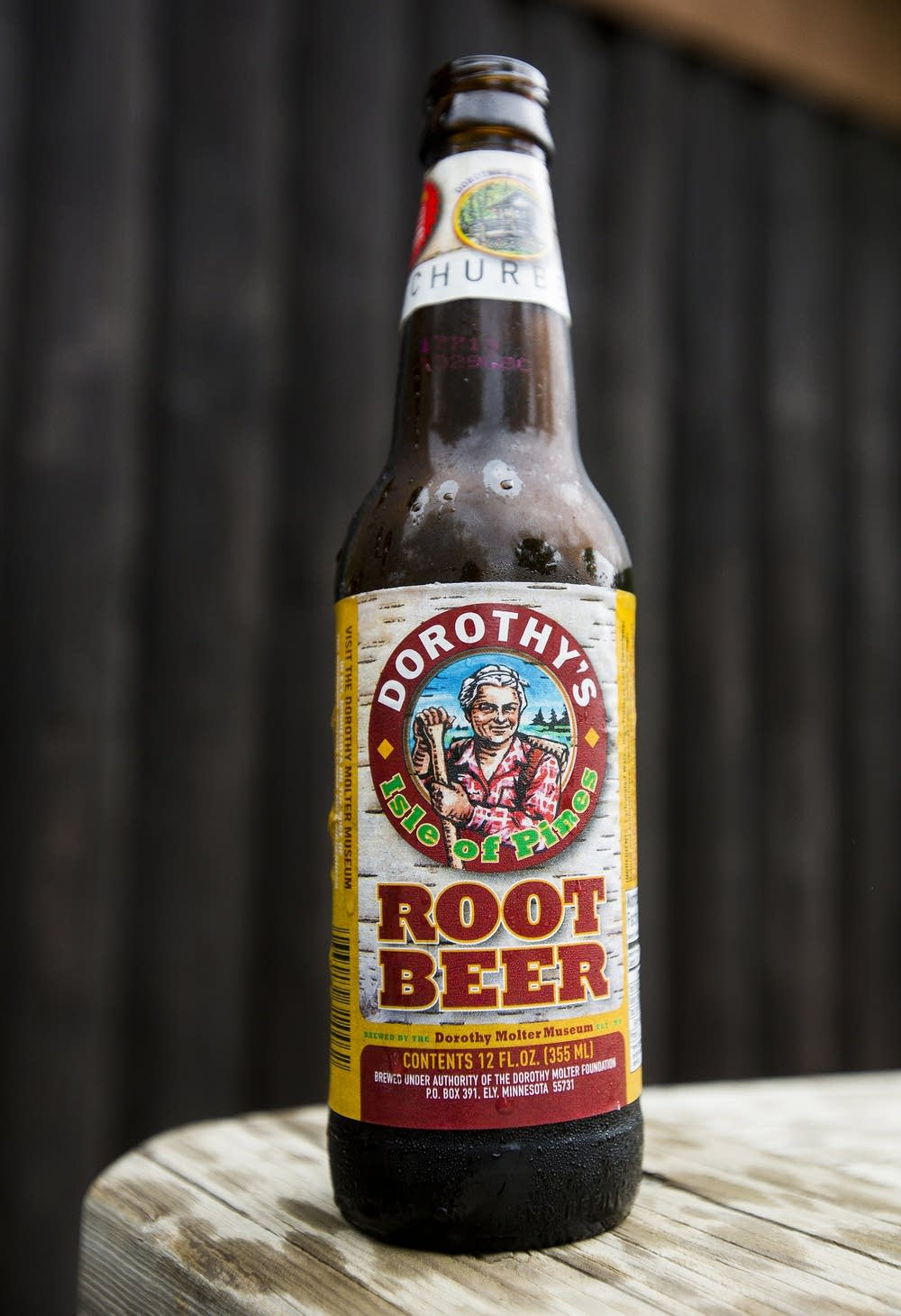 The museum brews root beer to raise funds.