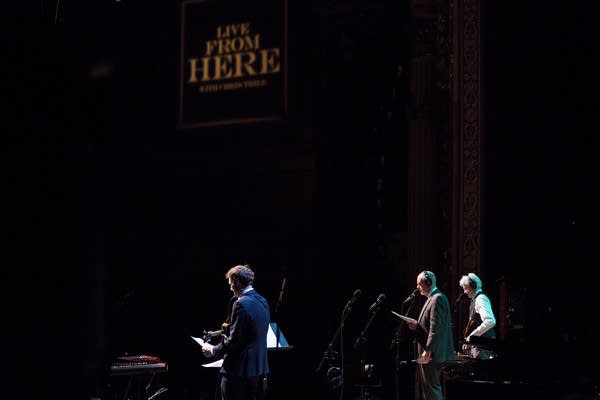 Chris Thile, Tim Russell and Fred Newman