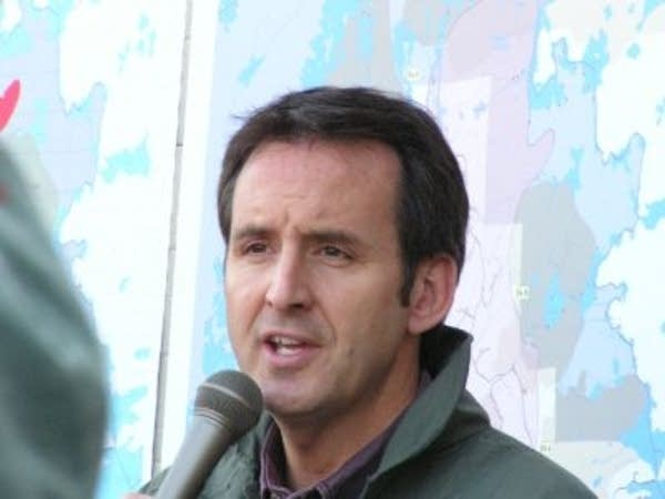 Gov. Pawlenty at Ham Lake fire