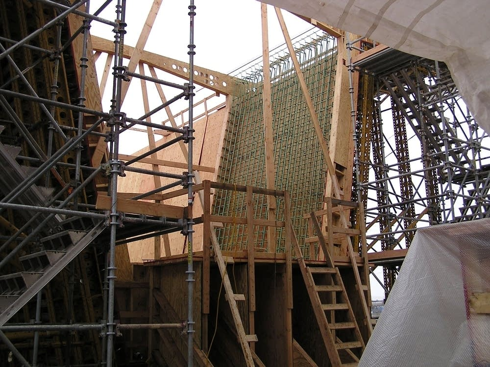 Reinforced trusses