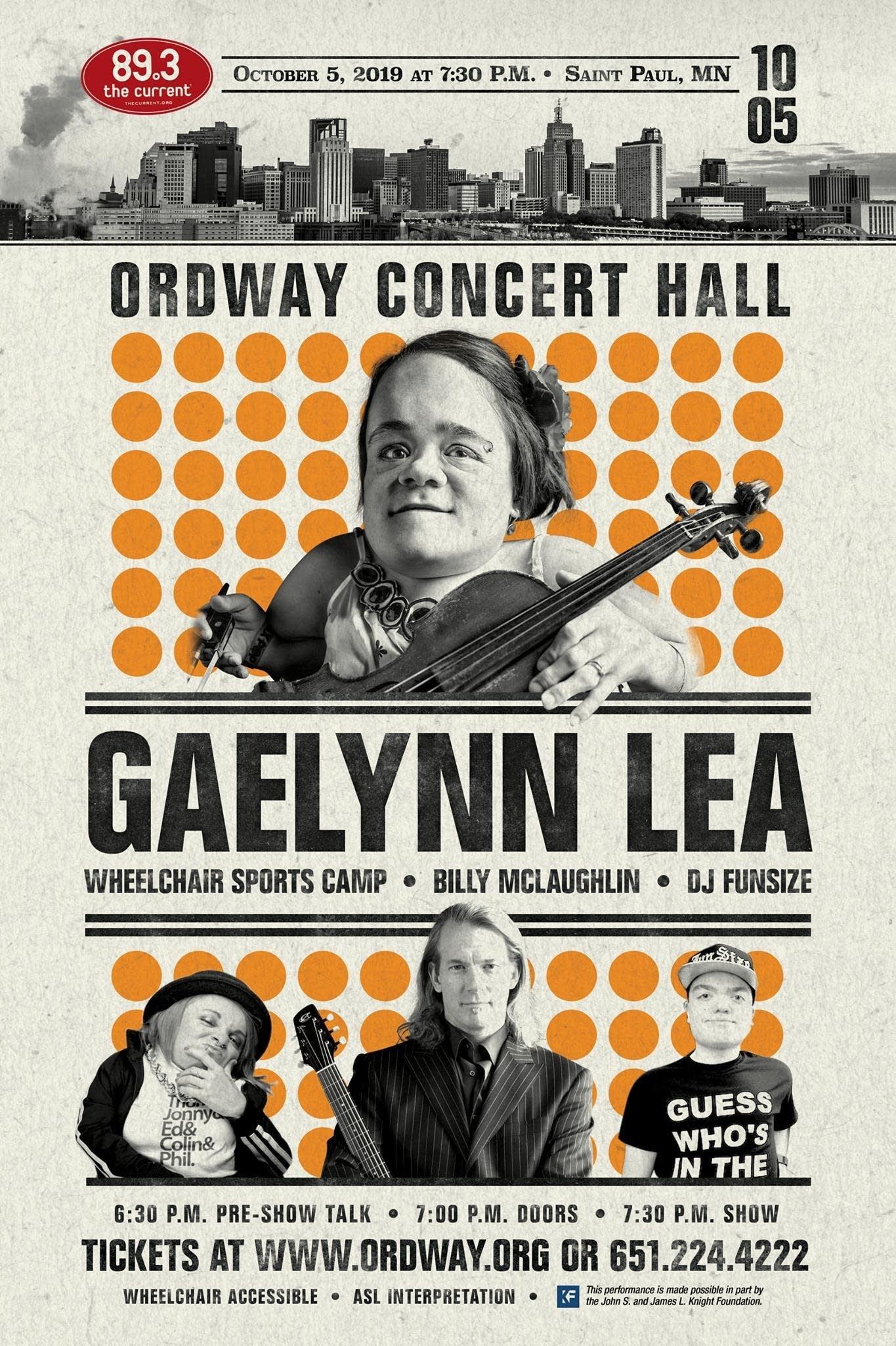 Gaelynn Lea Wheelchair SPorts Camp poster