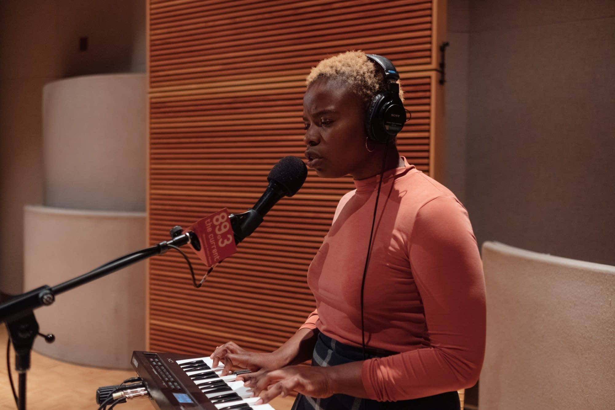 Vagabon performs in The Current studio