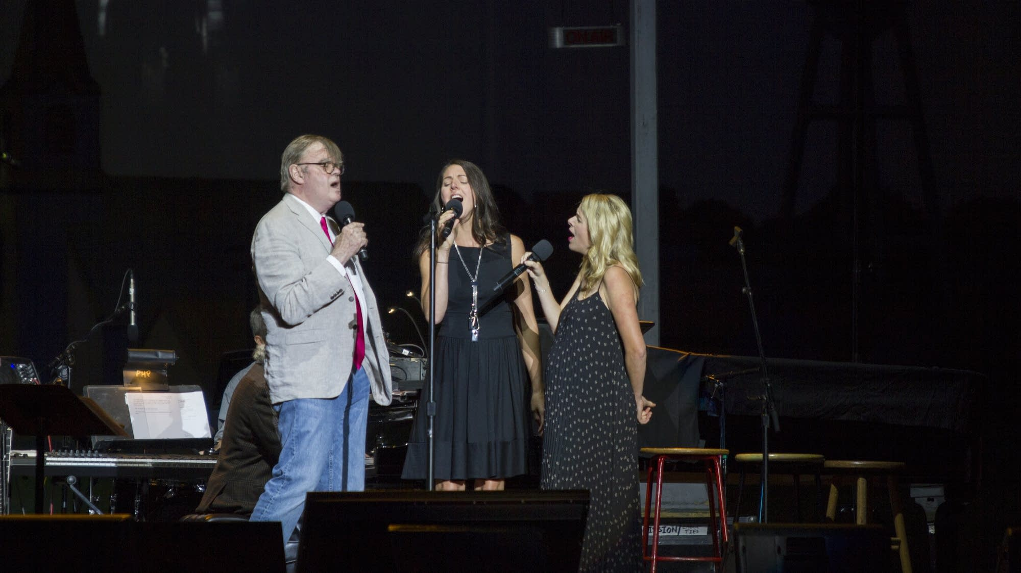 Garrison Keillor, Heather Masse, and Aoife O'Donovan