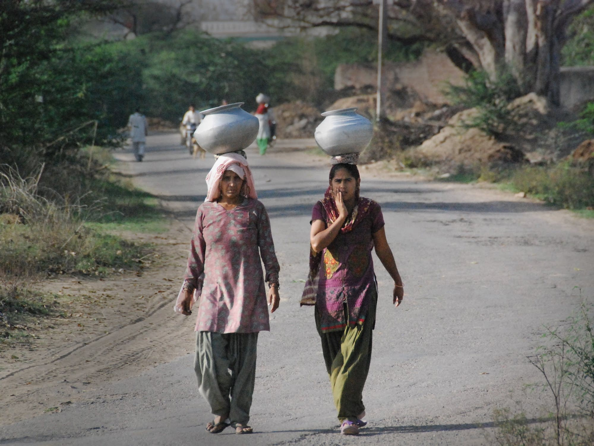 Ranila village residents