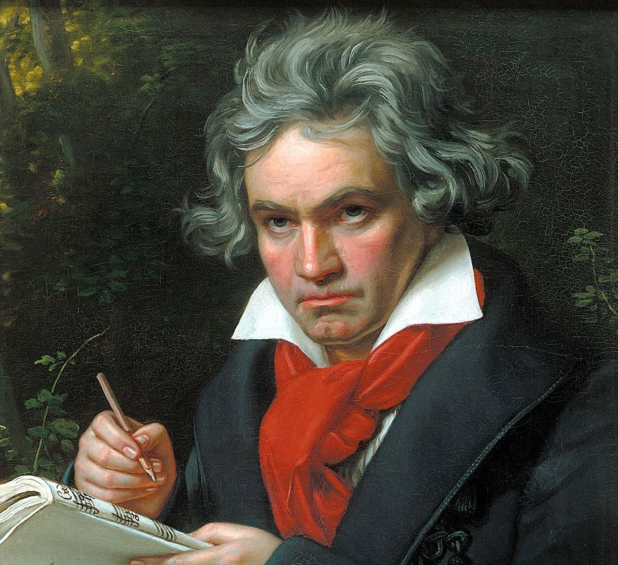 Beethoven in 1820