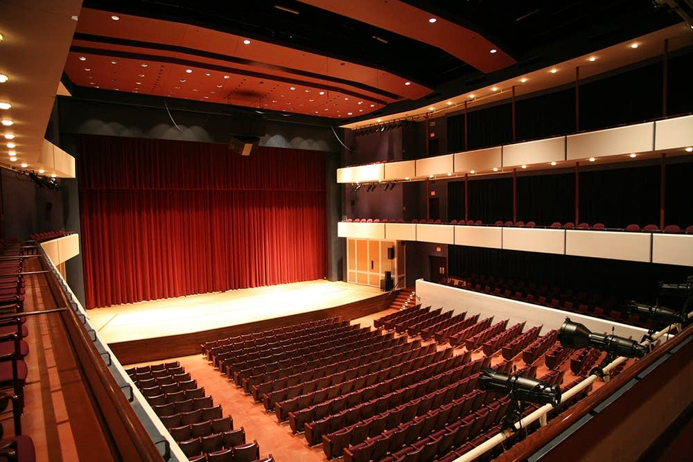 Ted Mann Concert Hall, interior
