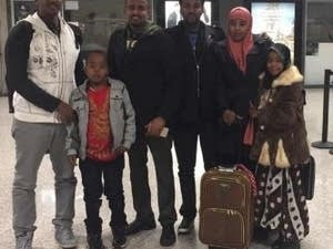 Anshur and Adan's family is reunited