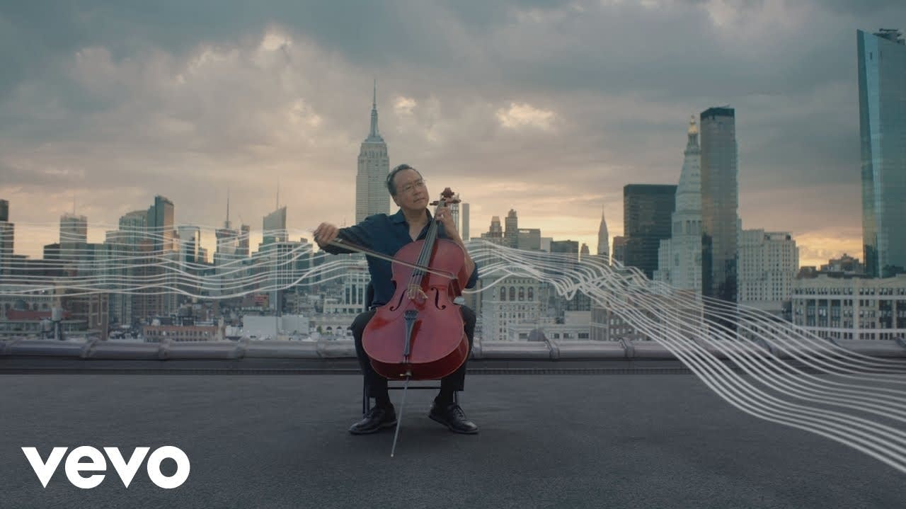 Watch Yo-Yo Ma play Bach on a New York City rooftop