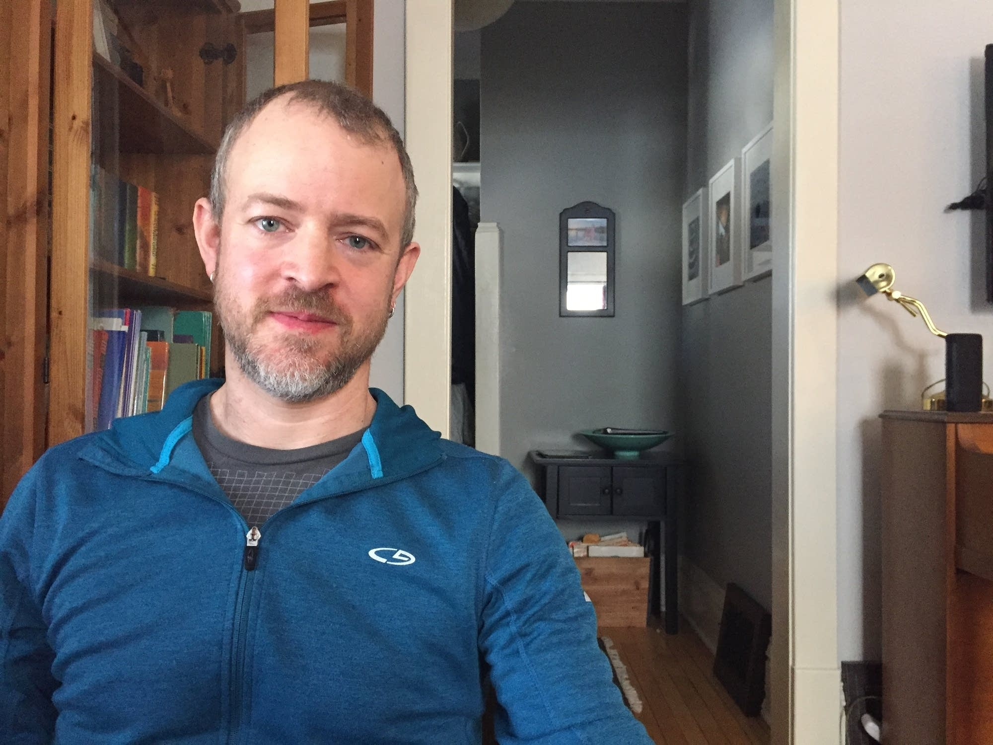 Nate Saul orked at the Guthrie Theater for 15 years as a carpenter