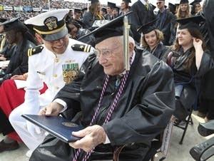 World War II veteran Bob Barger