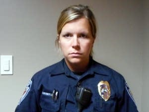 Plymouth police officer Amy Therkelsen