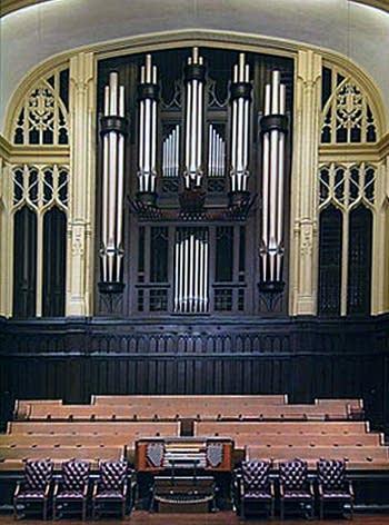 2003 Casavant organ at First United Methodist Church, Dallas, Texas