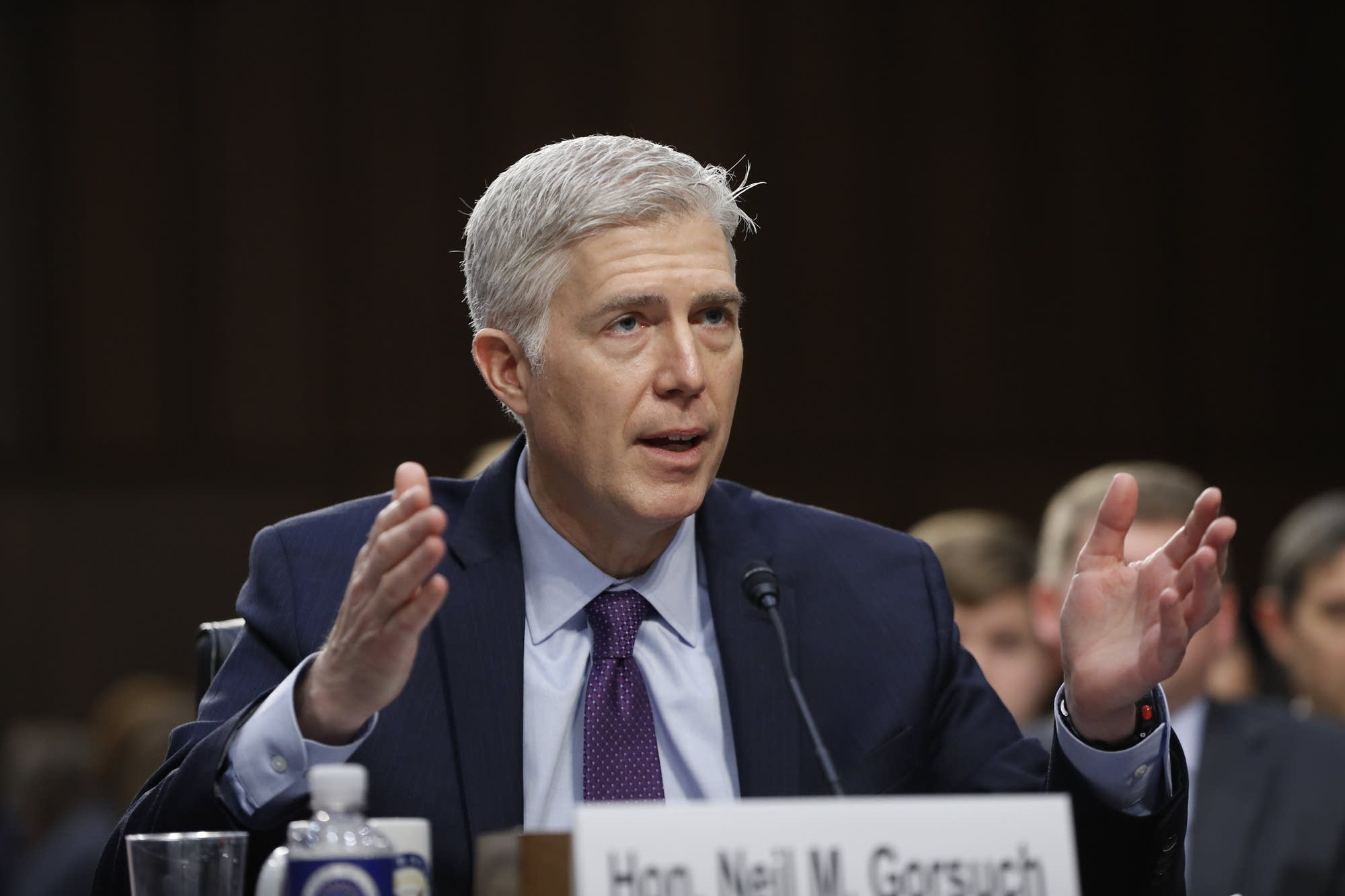 Senate roll call on changing rules on Supreme Court picks
