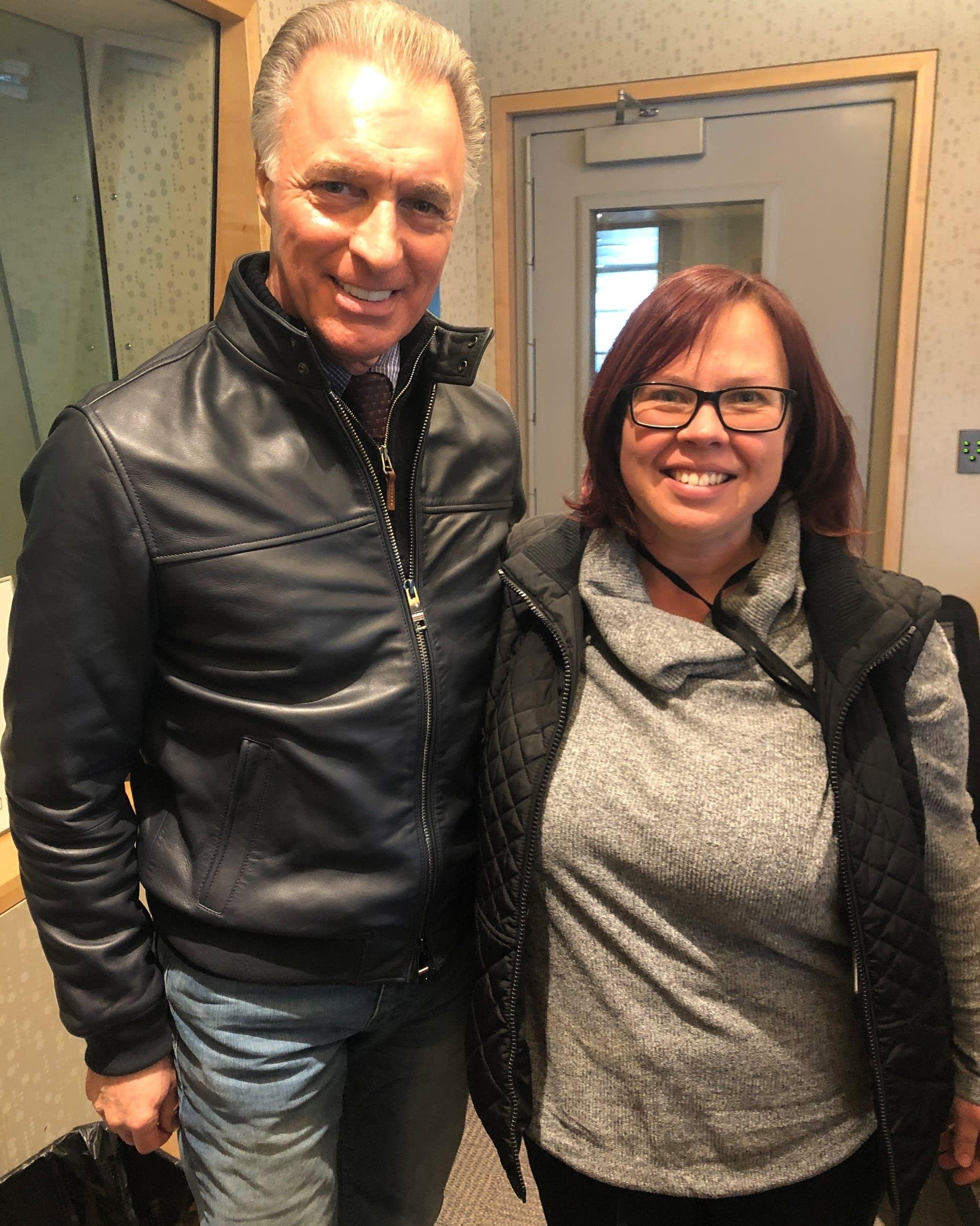 Jill Riley and Purple Rain Director Albert Magnoli