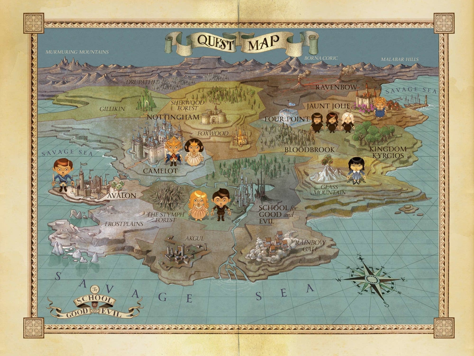 The map of