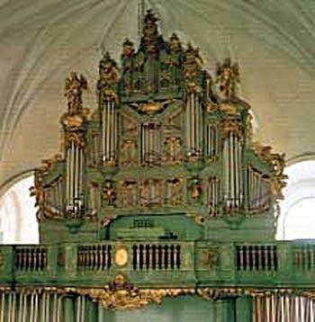 1863; 1976 Akerman & Lund Organ at Katarina Church, Stockholm, Sweden
