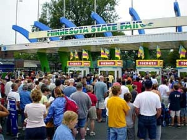 State fair crowd