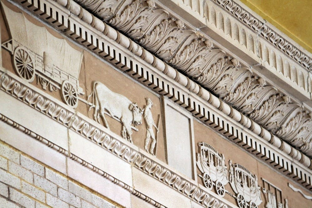 Terracotta frieze