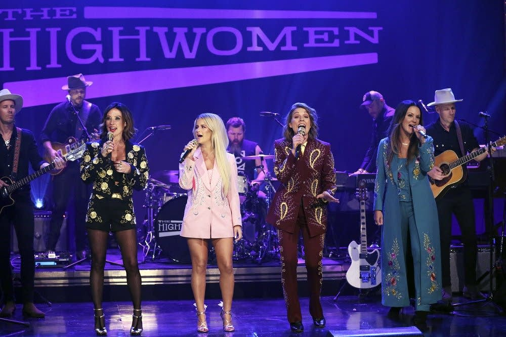 The Highwomen perform on 'The Tonight Show Starring Jimmy Fallon'