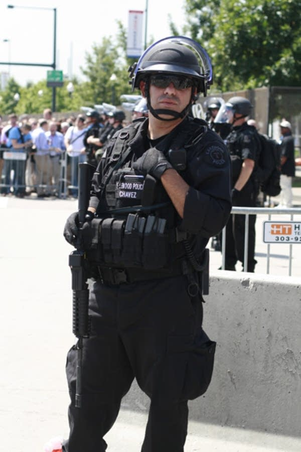 Police officer in Denver