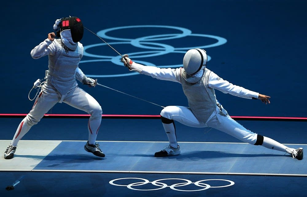 Olympics Day 1 - Fencing