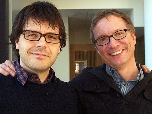 Phil Johnston and Jim Burke
