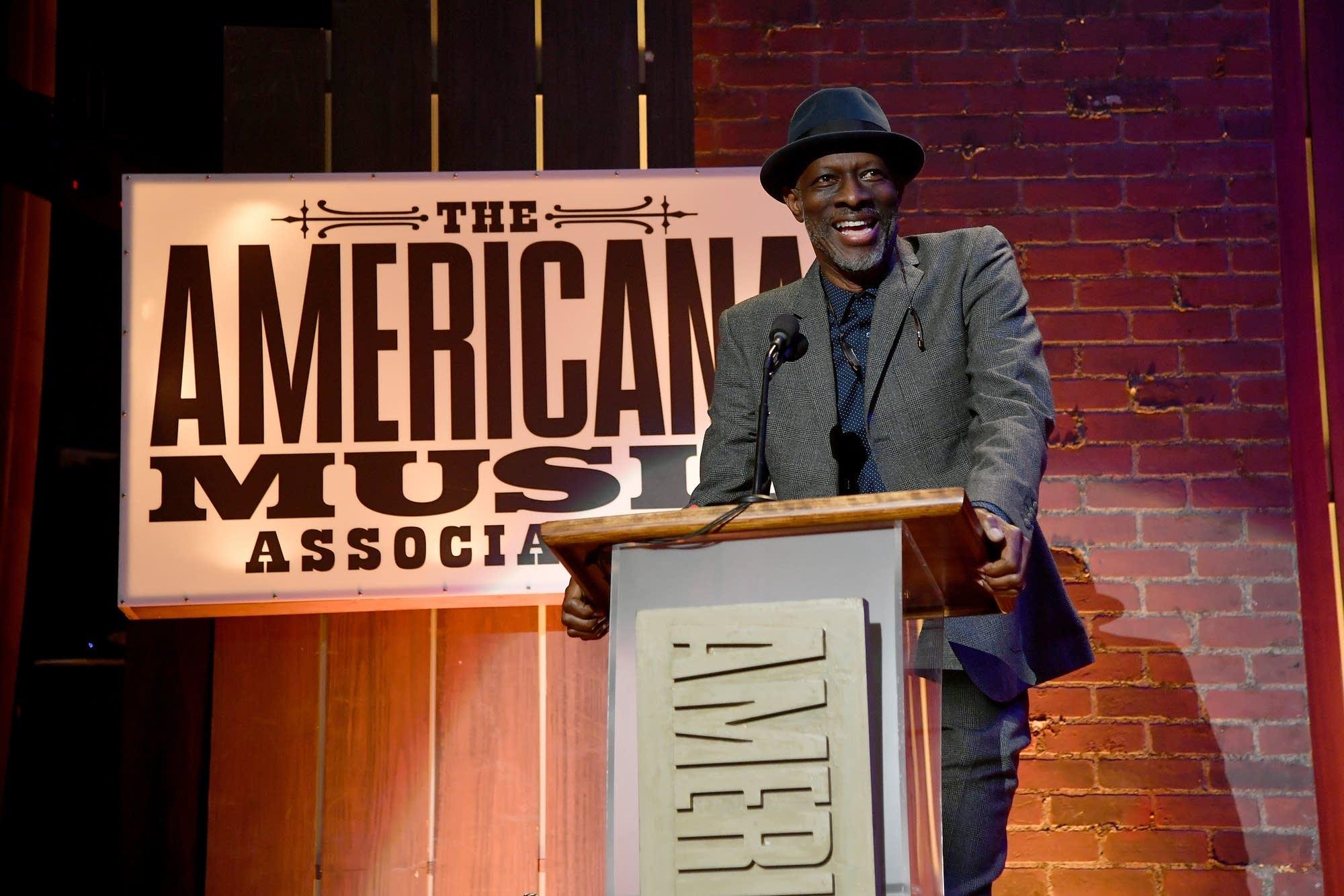 Blues musician Keb Mo at the Americana Music Honors and Awards