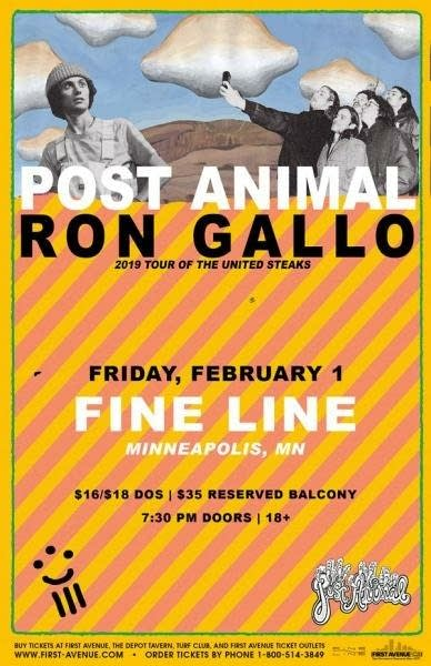 Post Animal Ron Gallo