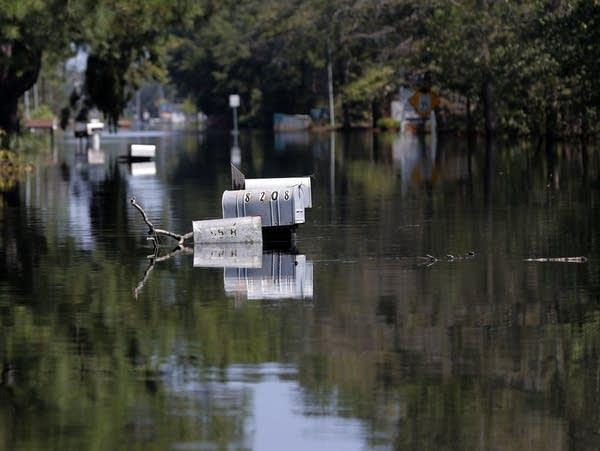 Hurricane Florence floods South Carolina in 2018