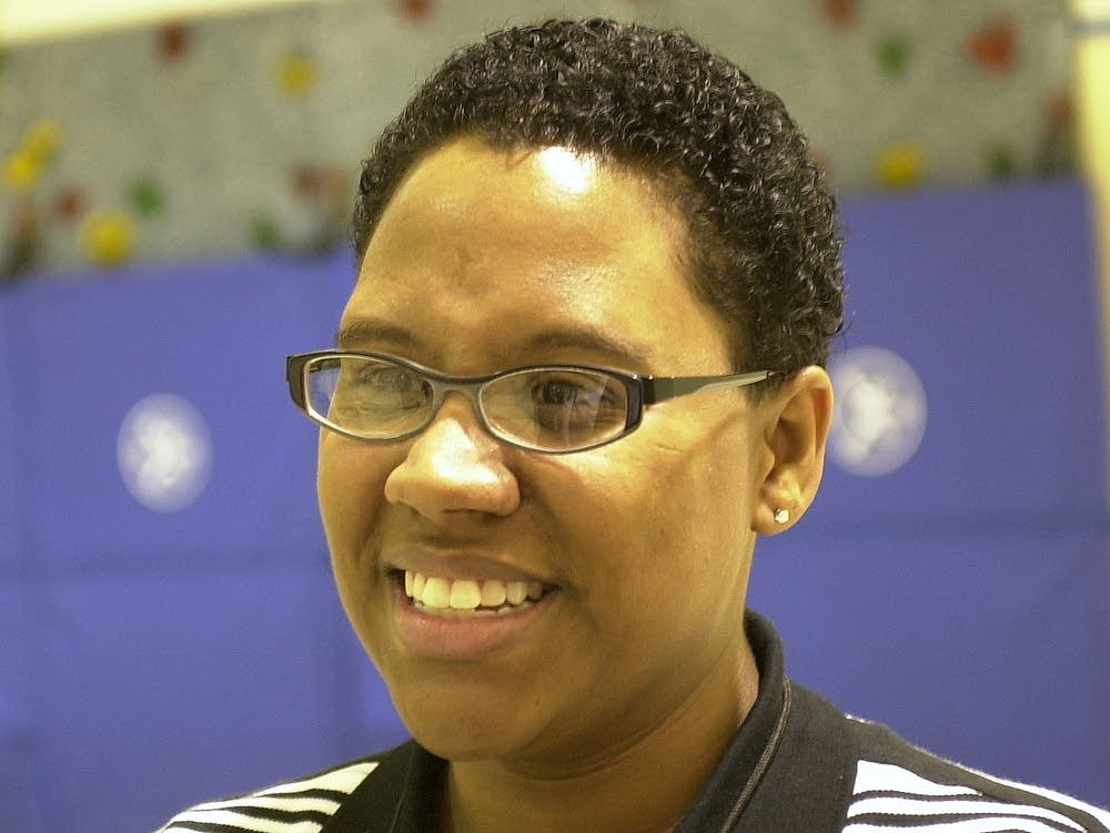 Tracey Cross is a St. Paul math teacher