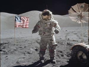 Astronaut Eugene A. Cernan, Apollo 17