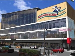 Rendering of the Treasure Island Center