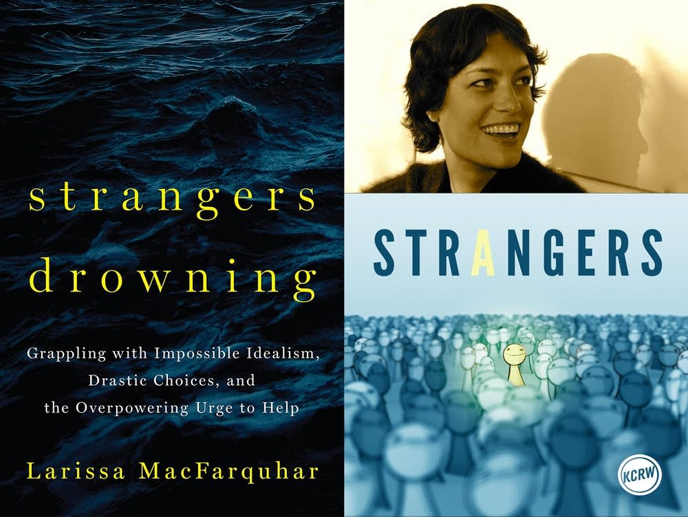 Radio host Lea Thau discussed 'Strangers Drowning'