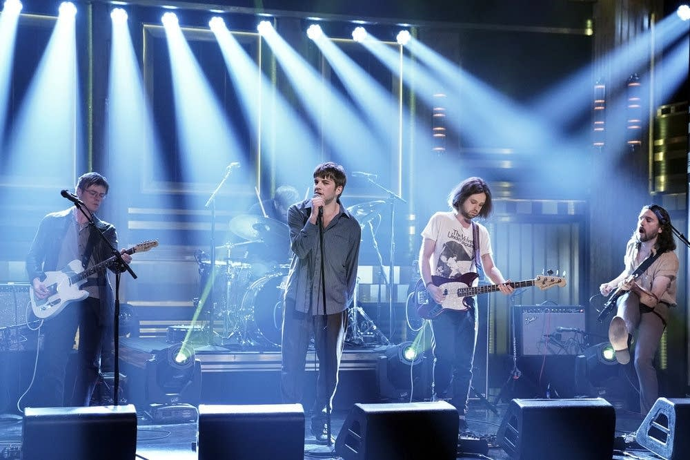 Fontaines D.C. perform on 'The Tonight Show Starring Jimmy Fallon'