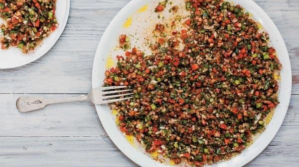 Spicy Tomato & Pepper Dip