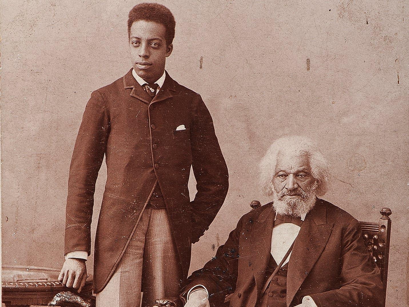 Joseph and Frederick Douglass
