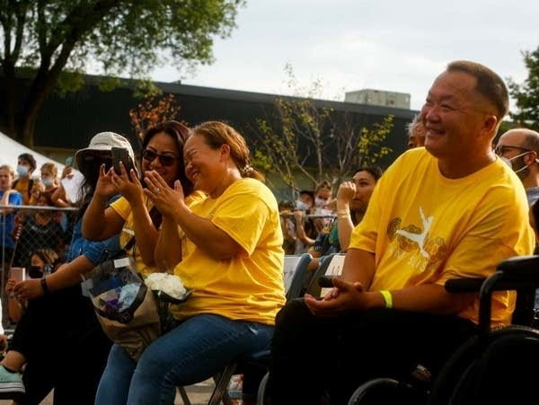 Parade and ceremony to celebrate Suni Lee's gold medal