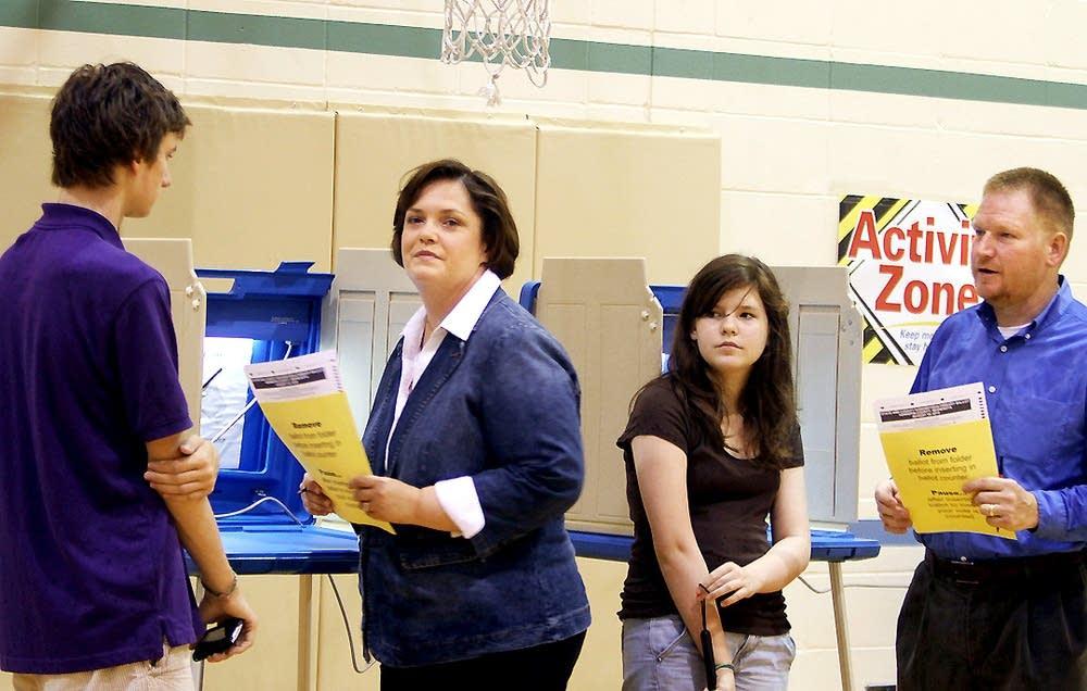 Margaret Anderson Kelliher votes