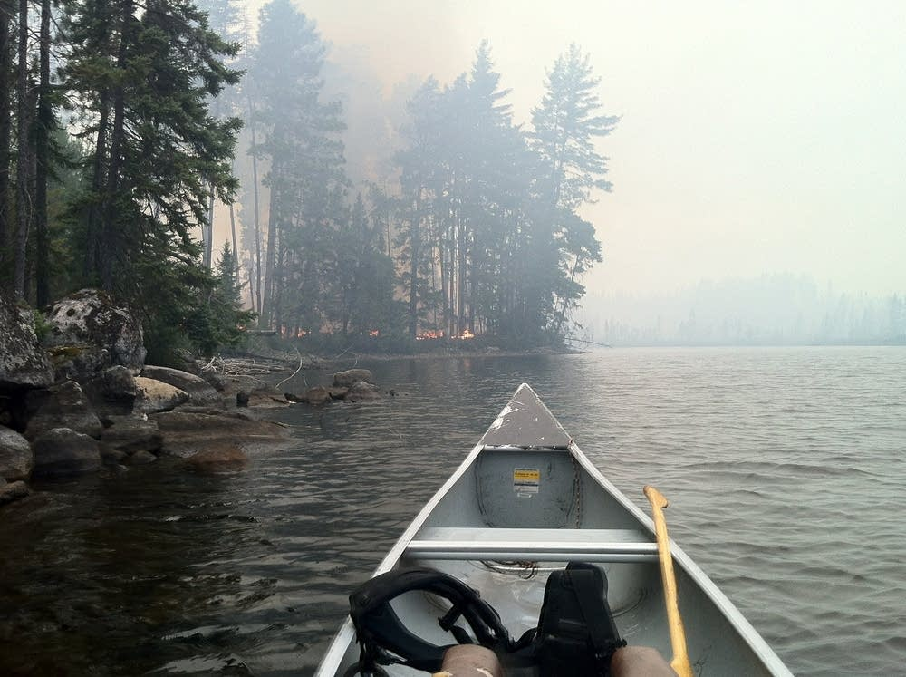 Cummings Lake Fire