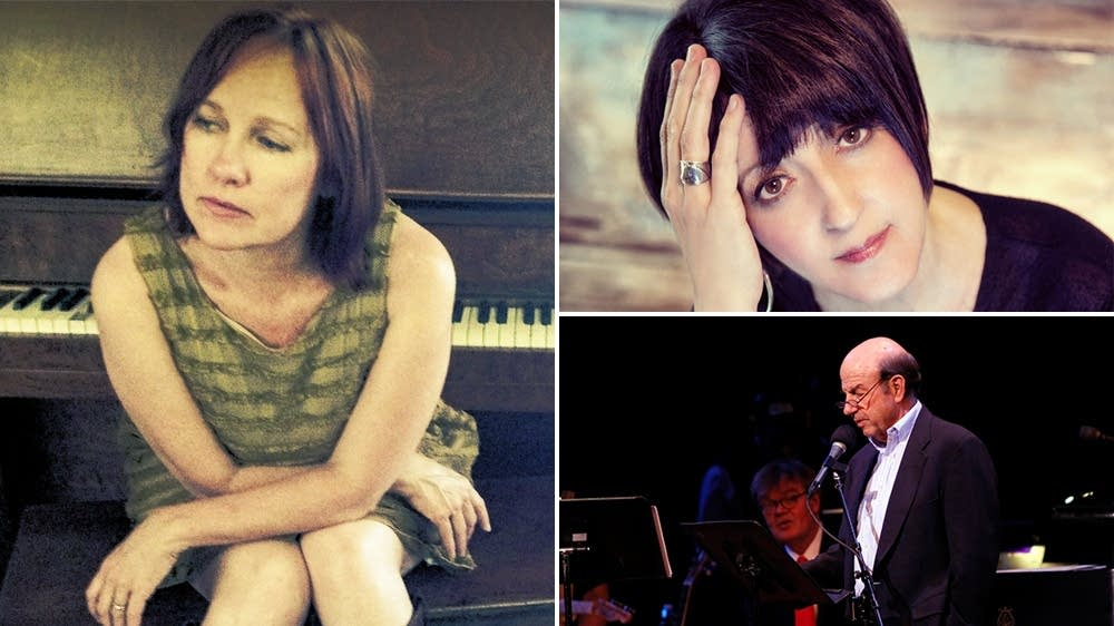 Iris DeMent, Kelley Hunt, Calvin Trillin