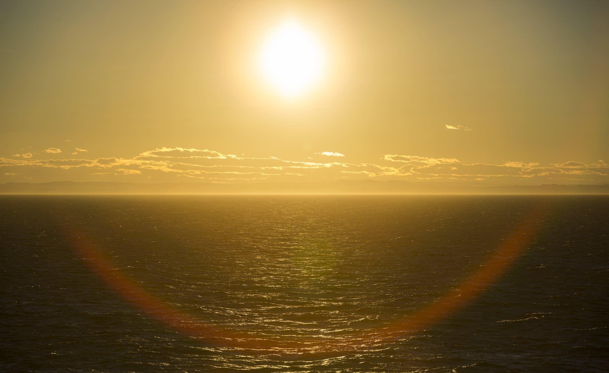 North Sea - 23 - sunset