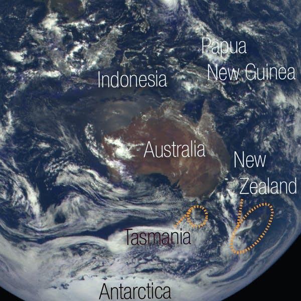 Antarctic ocean storms