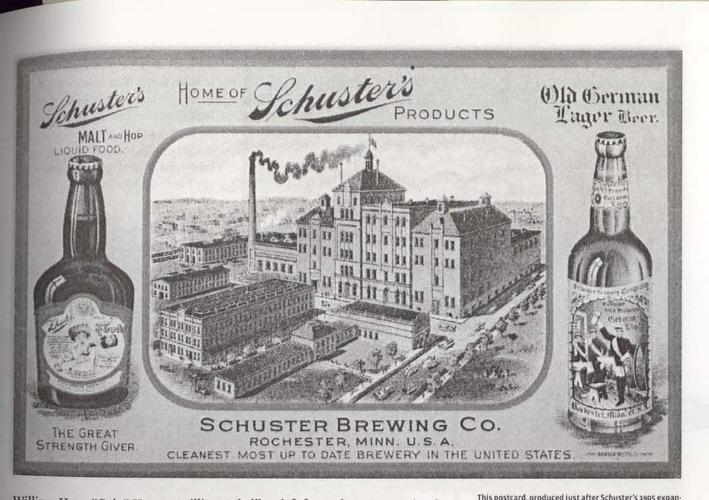 Schuster's postcard