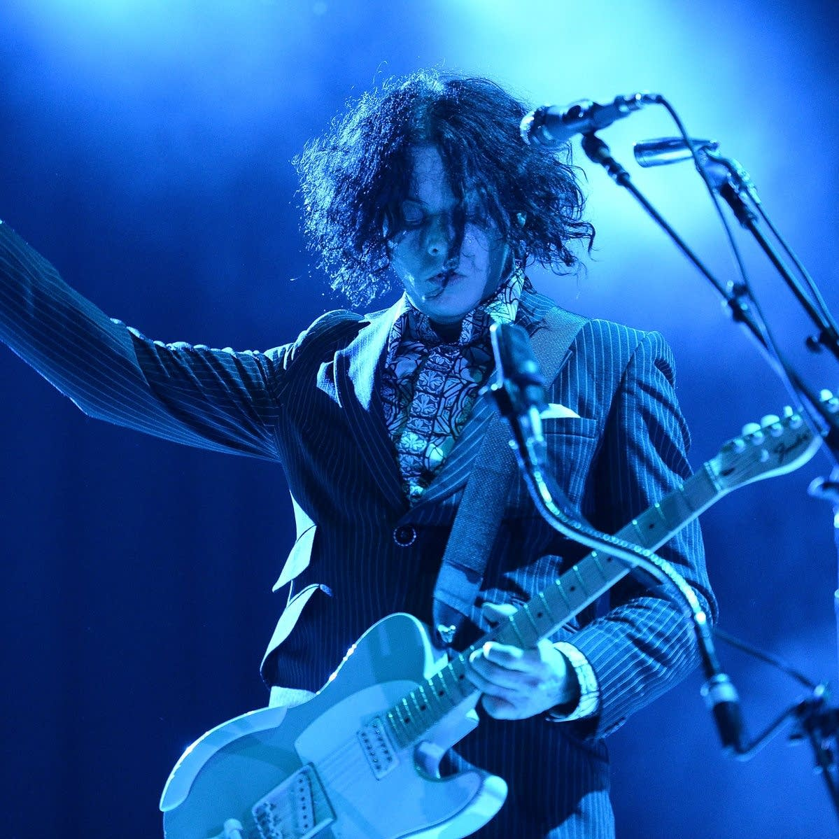 Jack White performs at the 2014 Bonnaroo Music & Arts Festival