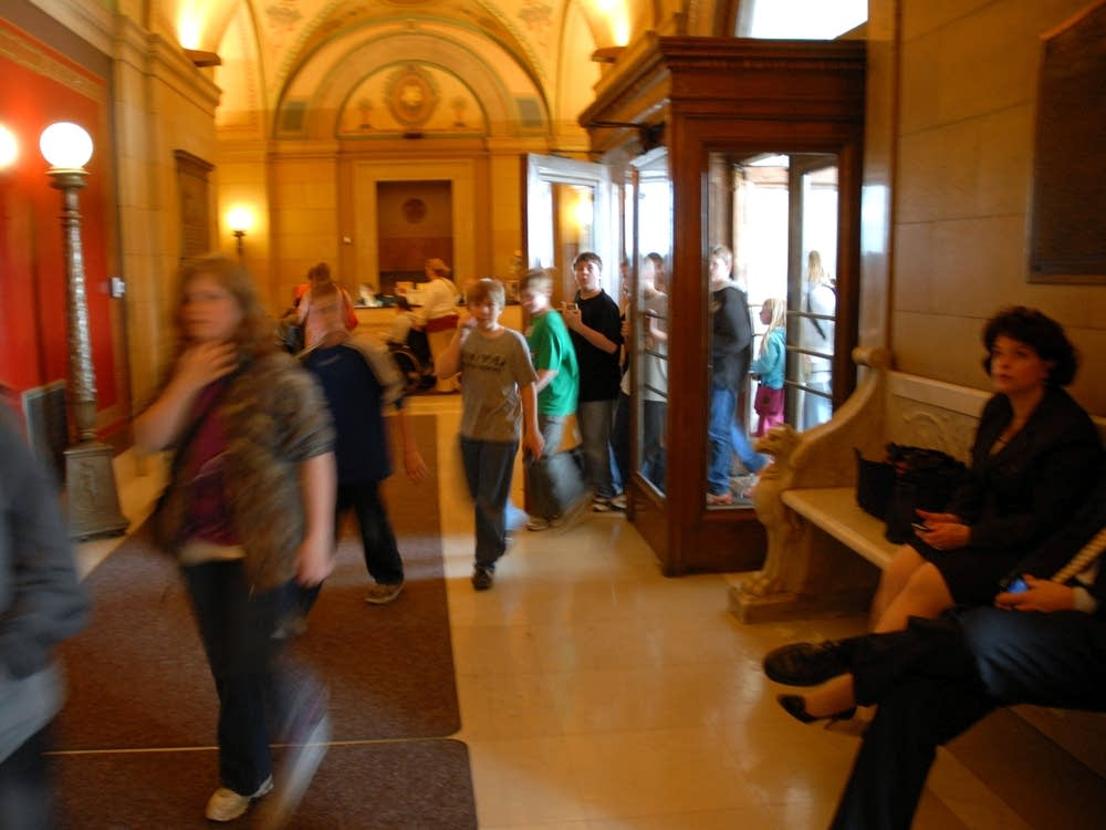 Entering the Capitol