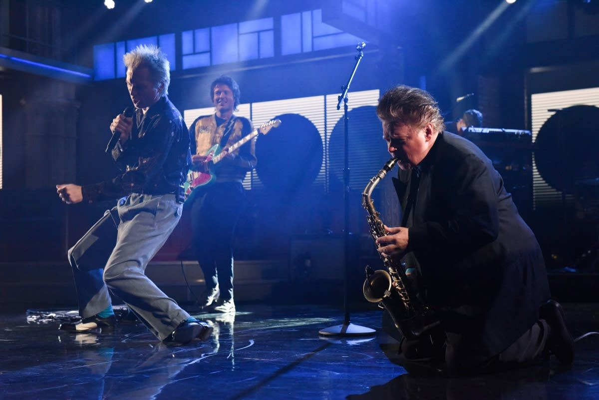 Franz Ferdinand perform on 'The Late Show with Stephen Colbert'